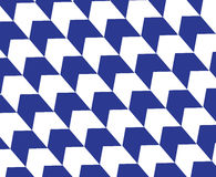Timber blue diagonal op art arrow pattern background. Stock Photography