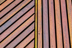 Timber broad slanting and vertical pattern in one frame. A Timber broad slanting and vertical pattern in one frame stock images