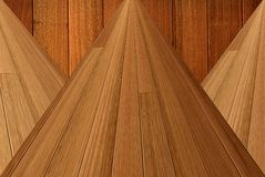 Timber ceiling boards Royalty Free Stock Images