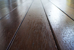 Timber deck wood background Stock Photo