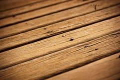 Timber Decking Royalty Free Stock Photo