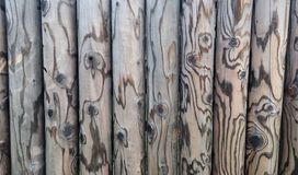 Timber fence Stock Photography