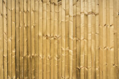 Timber fence Royalty Free Stock Photos