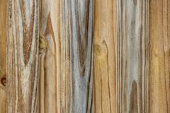 Timber Fence Close up Royalty Free Stock Image