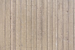 Timber fence Stock Image