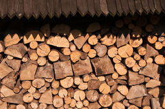 Timber for fire place Royalty Free Stock Image