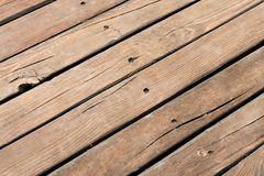 Timber floor Royalty Free Stock Images