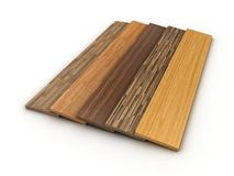Timber floor Royalty Free Stock Photo