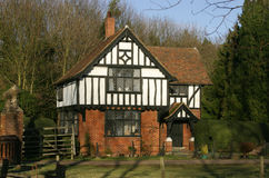 Timber Frame House. Traditional English Country House Stock Images