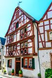 Timber Frame House in Moselle valley, Germany Royalty Free Stock Photo