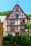 Timber Frame House in Moselle valley, Germany Stock Image