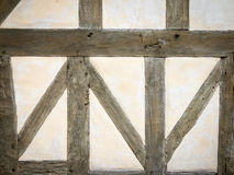 Timber frame wall Stock Photography