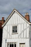 Timber framed building in portrait Stock Photo