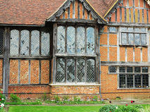 Timber Framed English Manor Royalty Free Stock Photos