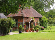 Timber Framed English Rural Cottage Royalty Free Stock Photos