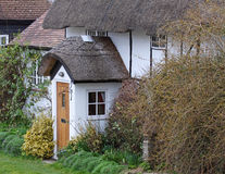 Timber Framed English Thatched Cottage Royalty Free Stock Photos