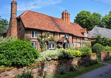 Timber Framed English Village Cottage Royalty Free Stock Image