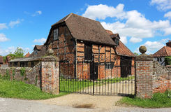 Timber Framed English Village Cottage Royalty Free Stock Photography