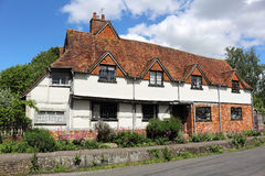 Timber Framed English Village Cottage Royalty Free Stock Photos