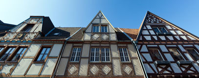 Timber-framed facade Royalty Free Stock Photo