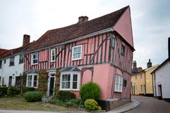 Timber-framed house Royalty Free Stock Photography