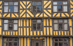 Timber-framed house Stock Photo