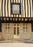 Timber framed house. Fougères, Brittany, France Royalty Free Stock Photos
