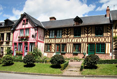 Timber Framed Houses Royalty Free Stock Photography