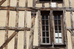 Timber-Framed Houses, Troyes Stock Images
