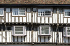 Timber-framed medieval house Royalty Free Stock Images