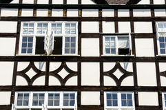 Timber-framed medieval house Royalty Free Stock Photo