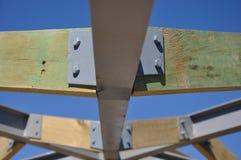 Timber framing Royalty Free Stock Images