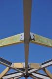 Timber framing Royalty Free Stock Photos