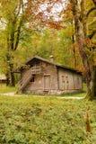 Timber House.St Bartholoma.Konigssee.Germany Stock Images