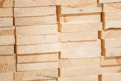 Timber industry material Stock Images
