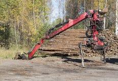 Timber lifter Royalty Free Stock Photos