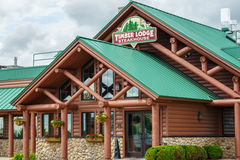 Timber Lodge Steakhouse Royalty Free Stock Photos