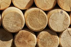 Timber & Logs Royalty Free Stock Images