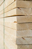 Timber packages. Large timber packages with cable ties around Royalty Free Stock Photos