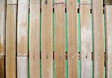 Timber panels Stock Photo