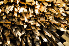 Timber pile Royalty Free Stock Photos