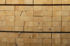 Timber piles for making furniture Royalty Free Stock Photo