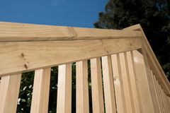 Timber railing Stock Photography