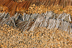 Timber resources Stock Photo