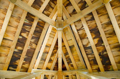 Timber roof Royalty Free Stock Photos