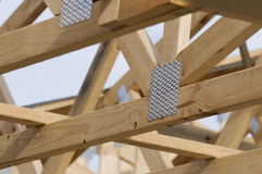 Timber Roof Frame Royalty Free Stock Images