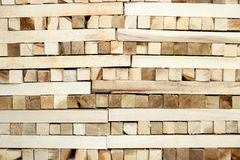 Timber in sawmill Royalty Free Stock Images