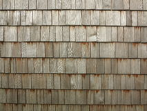 Timber shingles texture Stock Photos