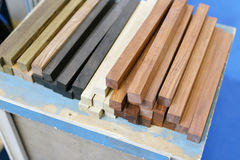Timber for small furniture Royalty Free Stock Photos