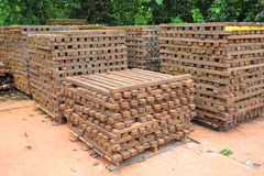 Timber  Stacked Outdoor Stock Photos